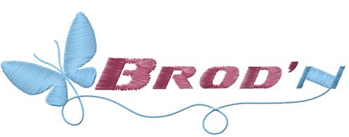 Brod'n, broderies de qualité, personnalisations sur tout support