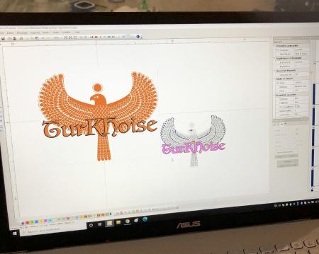 Modélisation d'un logo